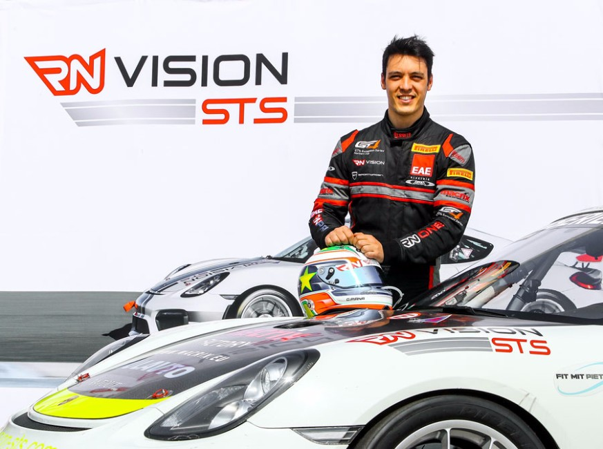 Gabriele Piana im Team RN Vision STS