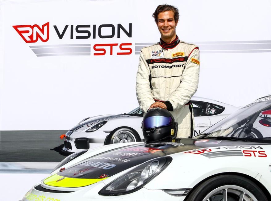 John-Louis Jasper im Team RN Vision STS