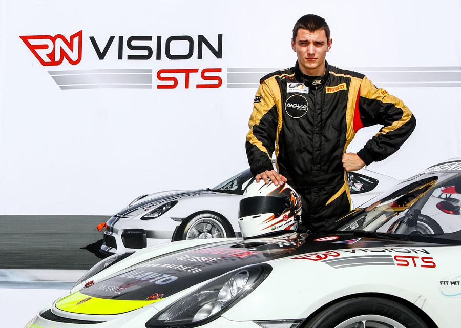 Pavel Lefterov im Team RN Vision STS