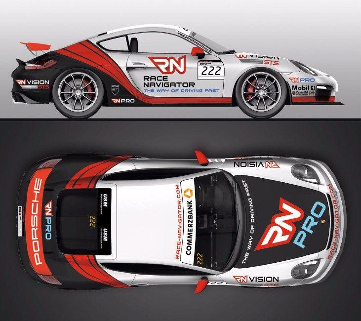 RN Vision STS - Porsche Cayman GT4 2016