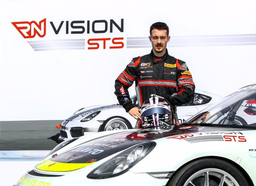 Razvan Umbrarescu im Team RN Vision STS